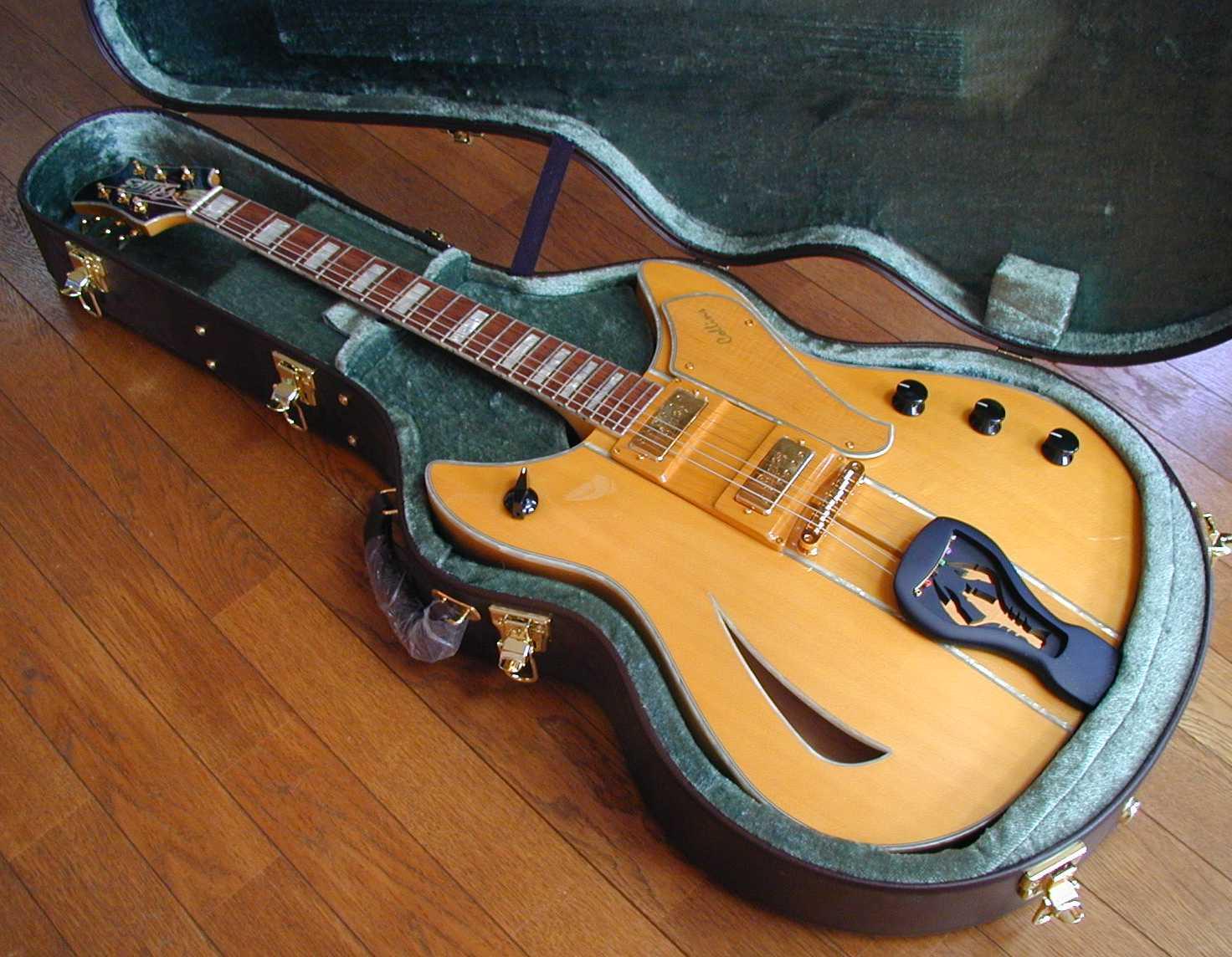 2004 blues ong deviser collins large archtop guitar. Black Bedroom Furniture Sets. Home Design Ideas