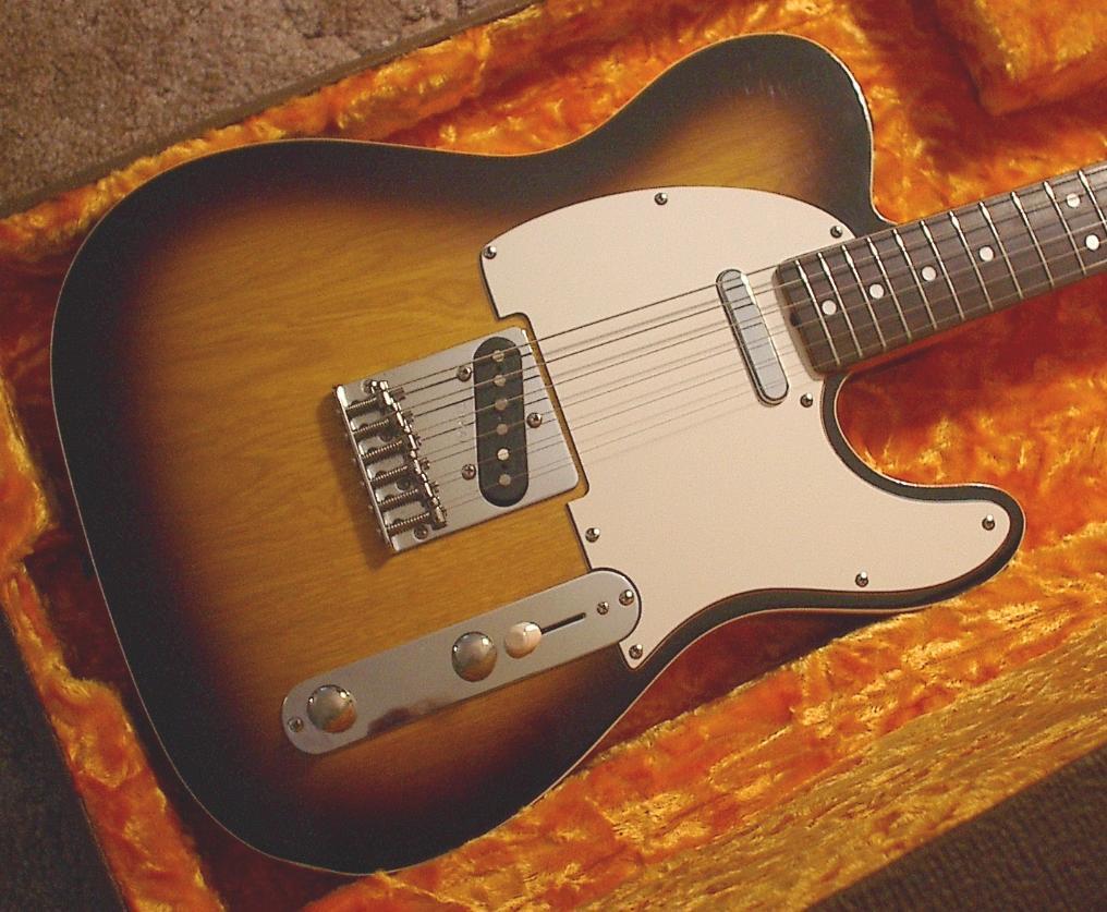 Fender Guitar Strap >> 1980 Tokai TE-70 Breezysound '62 Telecaster Custom Replica