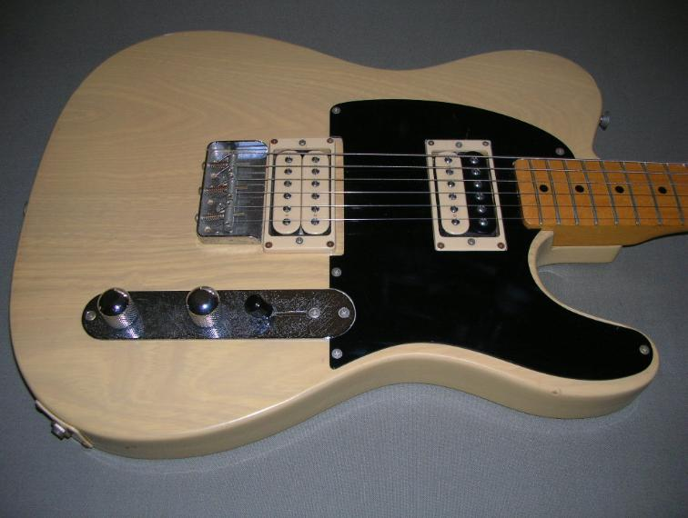 anyone know of a vintage style tele bridge that holds a humbucker the gear page. Black Bedroom Furniture Sets. Home Design Ideas