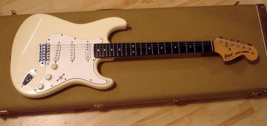 1979 greco se380 super sounds 1969 fender stratocaster lawsuit replica. Black Bedroom Furniture Sets. Home Design Ideas